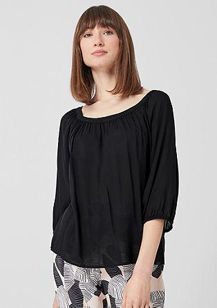 Vrouwelijke blouse van modal