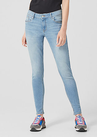 Catie Slim: Stretchige Ankle-Jeans