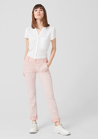 Megan Relaxed: Trousers with colour graduation from s.Oliver