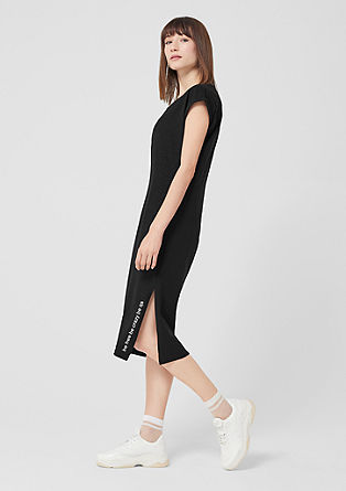 Oversized dress with a statement from s.Oliver