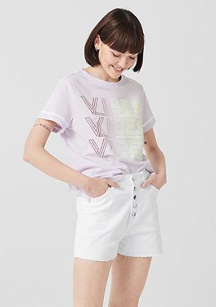 Mum Fit Relaxed: high-waisted shorts from s.Oliver