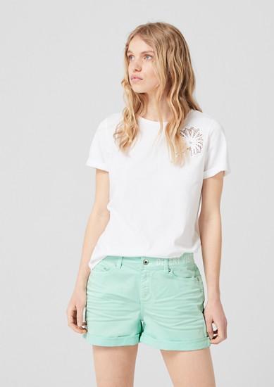 Abby: Low Waist-Shorts