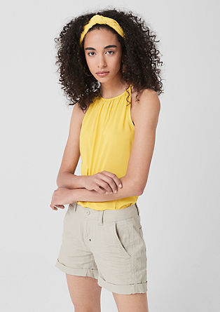 Lightweight modal top from s.Oliver