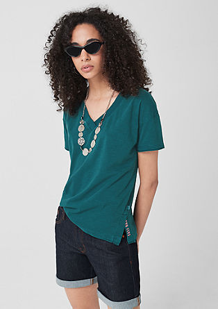 Jerseyshirt in Garment Dye