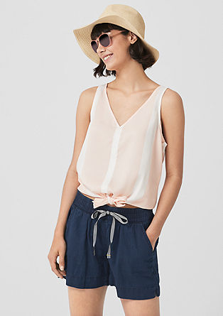 Abby: Lightweight denim shorts from s.Oliver