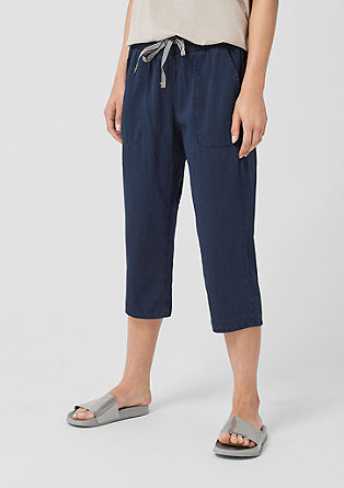 Gwen Boyfriend: Denim tracksuit bottoms from s.Oliver