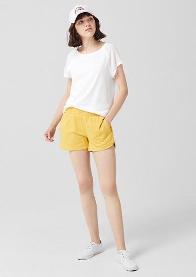 O-Shape-Shirt mit Chiffonärmeln