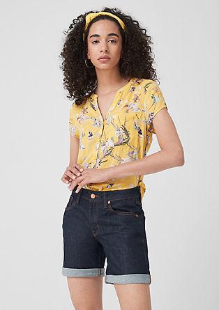 Abby Regular: Denim-Shorts