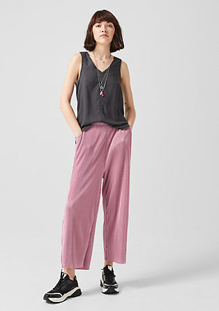 Pleated culottes from s.Oliver