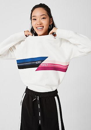 Oversized sweatshirt met print