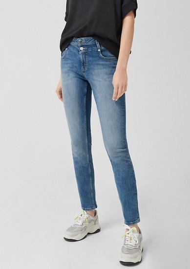 Catie Slim: Jeans mit Wascheffekt
