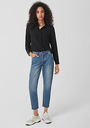 Megan girlfriend ankle: jeans