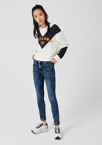 Sadie Superskinny: Washed denim from s.Oliver