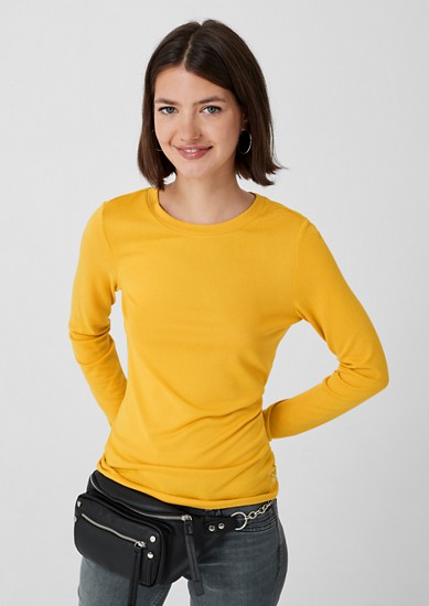 Long sleeve top made of knit jersey from s.Oliver