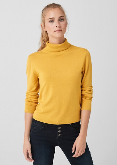 Polo neck jumper from s.Oliver