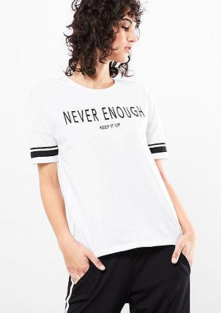 Lässiges T-Shirt mit Print