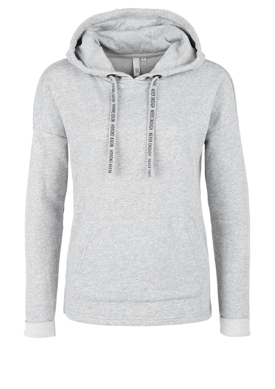 buy sweatshirt with lettering s oliver shop. Black Bedroom Furniture Sets. Home Design Ideas