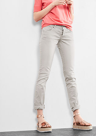 Catie Slim: trousers with a wash effect from s.Oliver