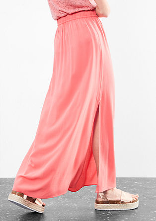 Maxi skirt with slits from s.Oliver