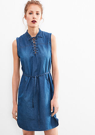 Lightweight dress in a denim look from s.Oliver