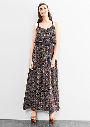 Floral maxi dress from s.Oliver