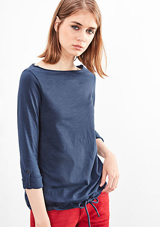 Double pack of sporty long sleeve tops from s.Oliver