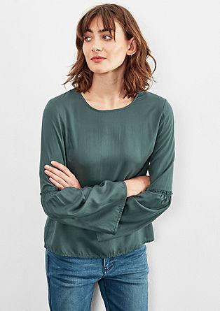 Bluza z zvonastimi rokavi