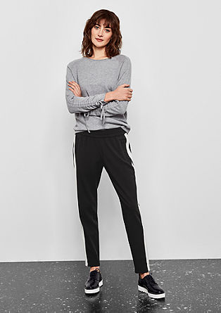 Gwen Boyfriend: sporty chic trousers from s.Oliver