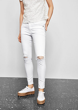 Sadie Superskinny: Used-Jeans