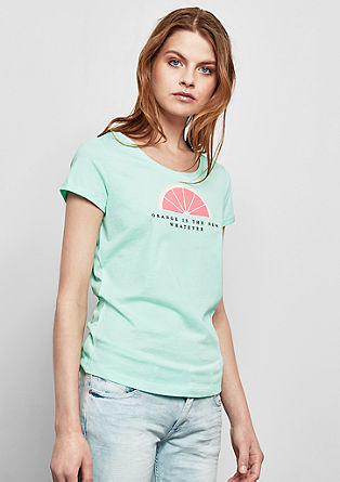 T-shirt met fruitprint