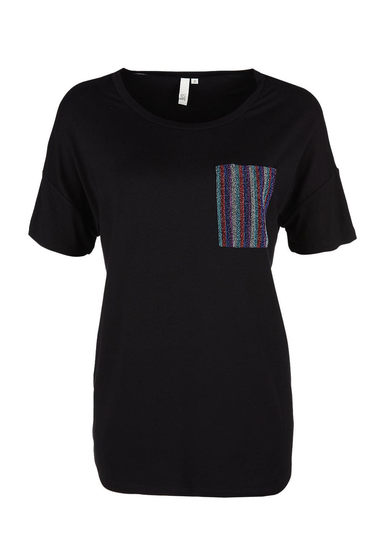 6fb1d706432 T-shirt met borstzak met glitter bestellen | s.Oliver Online Shop
