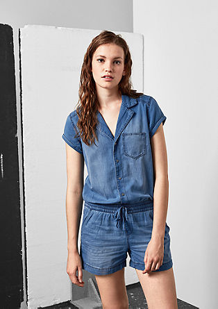 Light Denim-Overall