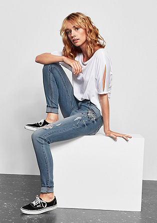 Sadie superskinny: jeans in glam rock style