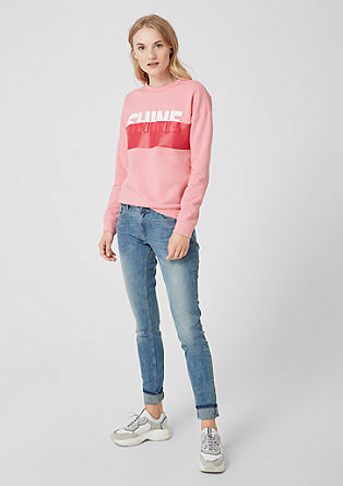 Sweatshirt with a front print from s.Oliver