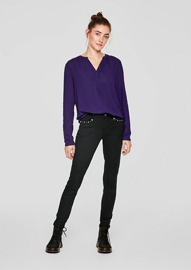 Sadie Superskinny: jean à rivets de s.Oliver