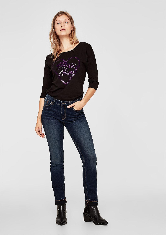 Reduzierte s.Oliver Slim Fit Jeans für Damen günstig online