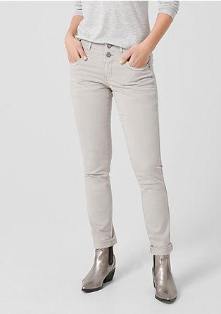Catie Slim: kalhoty barvené po ušití