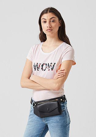 Jerseyshirt mit Frontprint