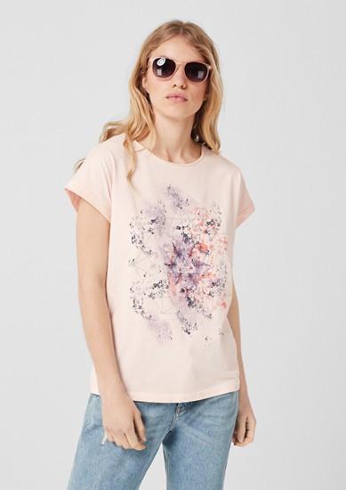 T-shirt oversize à imprimé mandala de s.Oliver