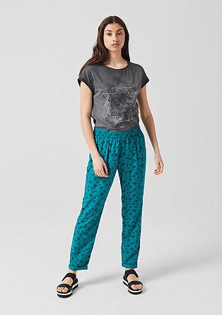 Maxi tričko snatištěnou mandalou