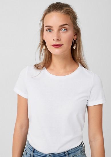 T-shirt basique en jersey de s.Oliver
