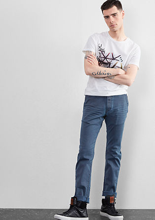 Rick Slim: garment washed jeans from s.Oliver