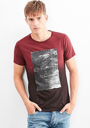 Printshirt mit Farbverlauf