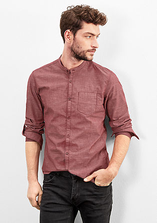 Extra Slim: stretch shirt from s.Oliver