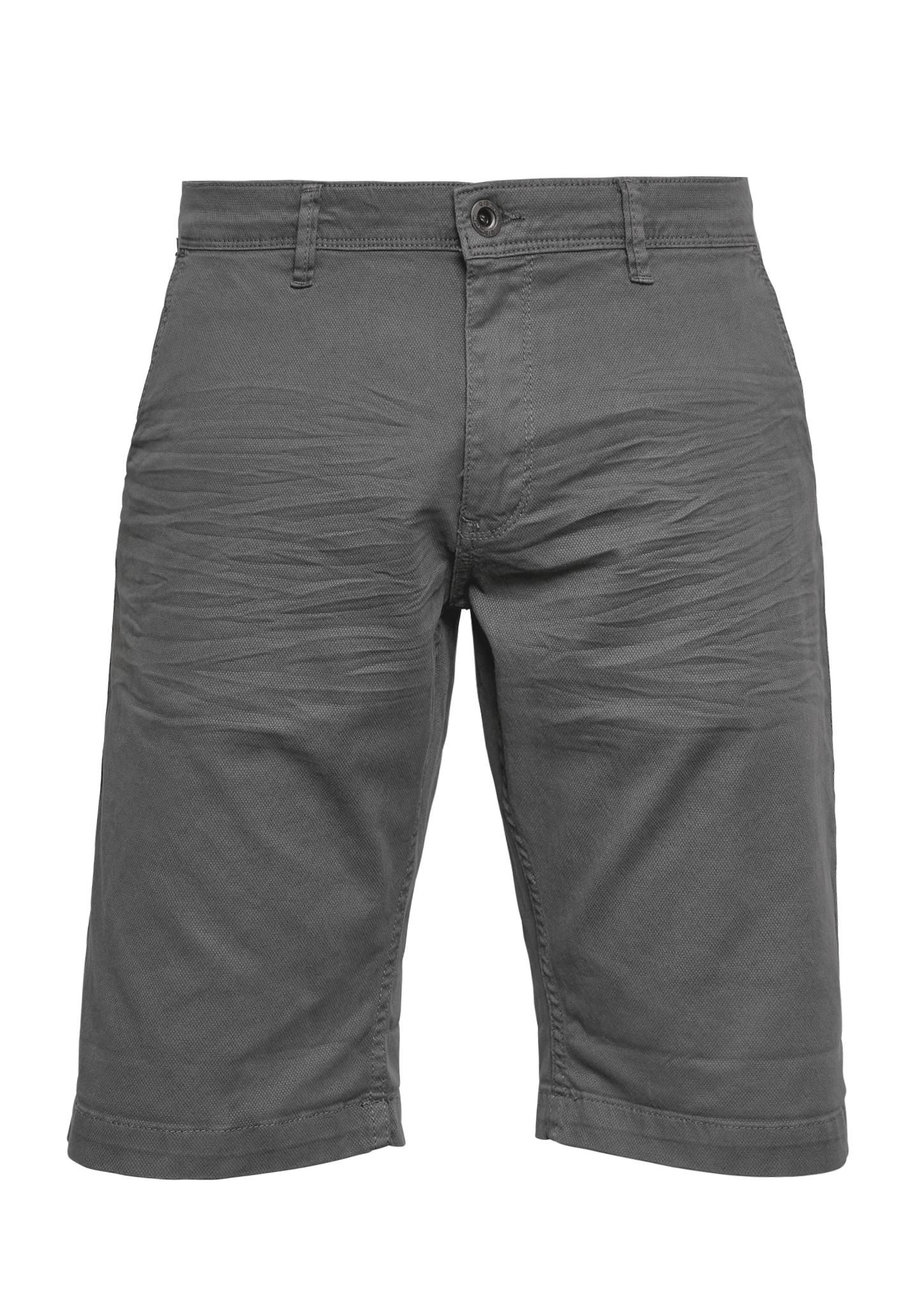 Bermuda   Bekleidung > Shorts & Bermudas   Grau/schwarz   98% baumwolle -  2% elasthan   Q/S designed by
