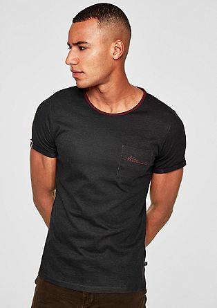 T-Shirt im Pigment-Dye-Look