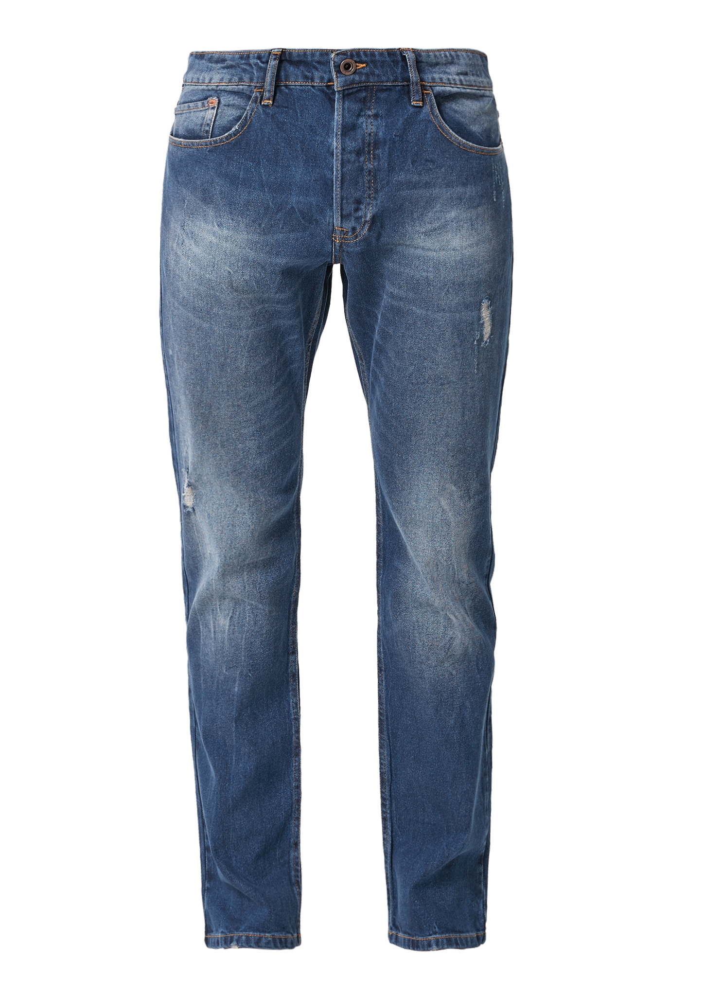 Stretchjeans   Bekleidung > Jeans   Blau   64% lyocell -  35% baumwolle -  1% elasthan   Q/S designed by