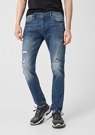 Rick Slim: distressed jeans from s.Oliver