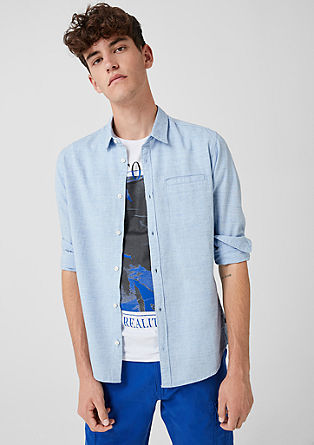 Extra Slim: chemise chinée de s.Oliver
