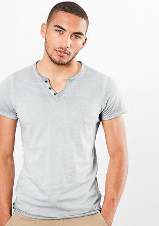 Lässiges Garment Dye-Shirt